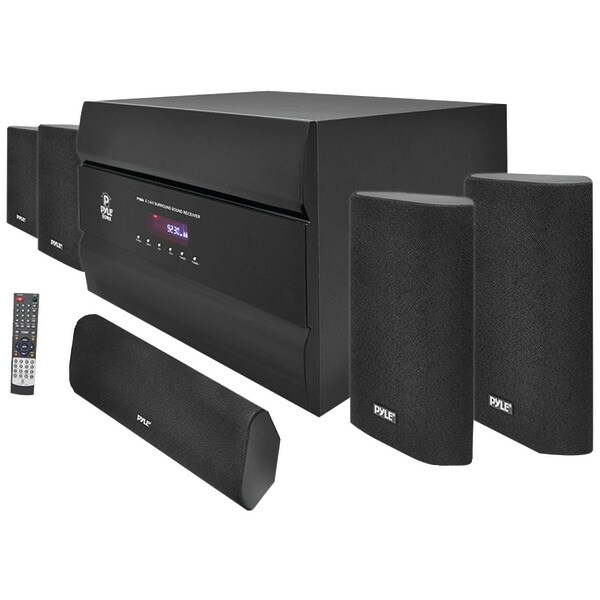 PYLE PRO PT628A 400-Watt 5.1-Channel Home Theater System