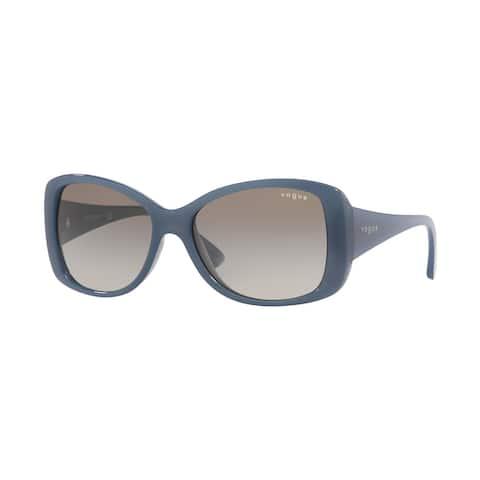 Vogue VO2843S 285011 56 Top Grey/blue Woman Square Sunglasses