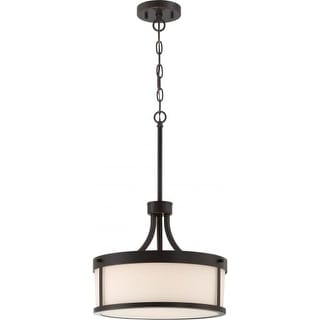 Nuvo Lighting 60/6327 2 Light 14-3/8  Wide Pendant with  sc 1 st  Overstock & Nuvo Lighting Ceiling Lights For Less | Overstock.com azcodes.com