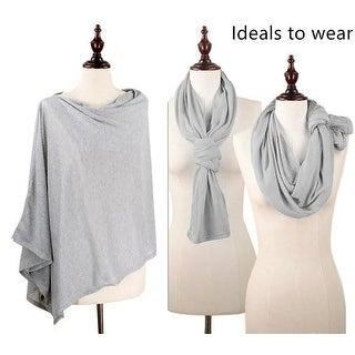 Women's Jersey scarves fashion long plain scarf wrap shawls hijab