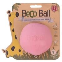Beco Dog Ball Pink Large