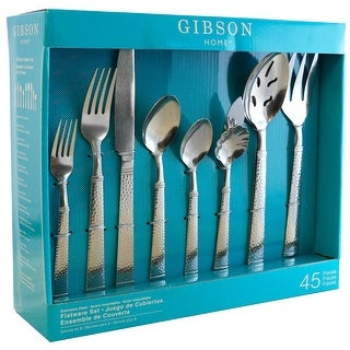 Link to Gibson Prato 45 Piece Flatware Set Similar Items in Flatware