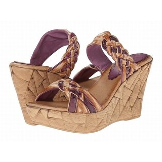 Azura NEW Brown Shoes Size 10M Platforms & Wedges Leather Sandals