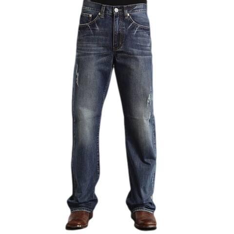 Stetson Western Denim Jeans Mens Modern Fit Medium