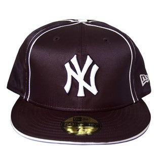 buy online 4f239 b00d0 Shop MLB New York Yankees New Era 59Fifty Dri Fit Fitted Hat Cap - 7 1 8 -  Free Shipping On Orders Over  45 - Overstock - 16948108