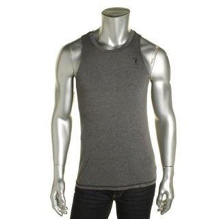 Feats of Strength Mens Heathered Crew Neck Tank Top