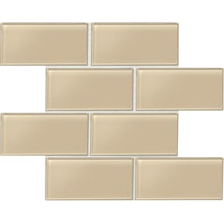 "Daltile AM36L Amity - 6"" x 3"" Subway Wall Tile - Smooth Glass Visual - N/A"