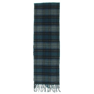 Ted Baker Mens Winter Scarf Wool Plaid - o/s
