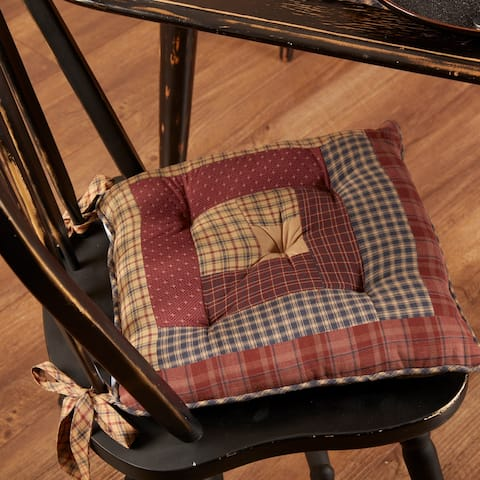 Millsboro Chair Pad Log Cabin Patch