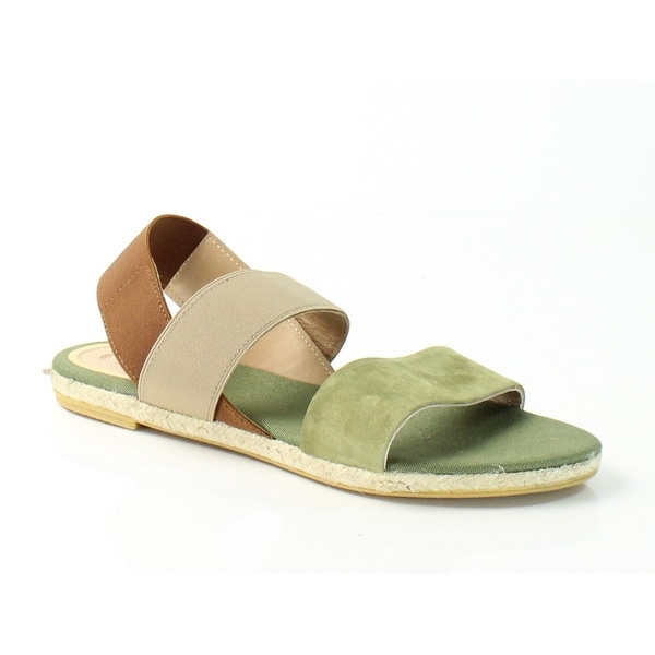 Vidorreta NEW Green Women's Shoes Size 7.5M Leo Suede Sandal
