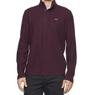 Calvin Klein NEW Purple Mens Size Medium M 1/2 Zip Mock Neck Sweater|https://ak1.ostkcdn.com/images/products/is/images/direct/3459fec73cd5367948deed620569e2e270aa6172/Calvin-Klein-NEW-Purple-Mens-Size-Medium-M-1-2-Zip-Mock-Neck-Sweater.jpg?_ostk_perf_=percv&impolicy=medium