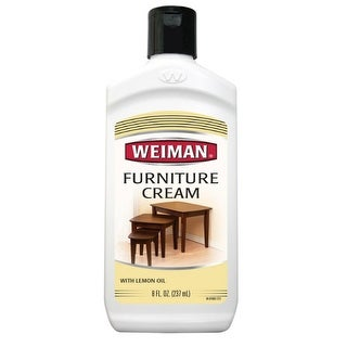 Weiman 04 Furniture Cream With Lemon Oil, 8 Oz