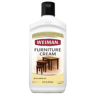 Weiman 04 Furniture Cream With Lemon Oil, 8 Oz