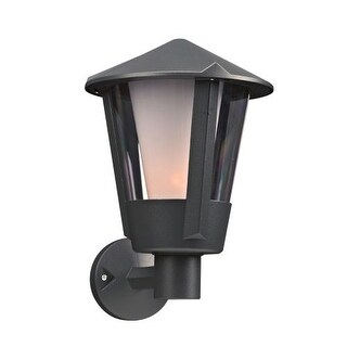 "PLC Lighting 1886 1 Light 10"" Wide Outdoor Wall Sconce from the Silva Collection"