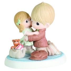 Precious Moments I'll Be Home For Christmas Porcelain Bisque Figurine