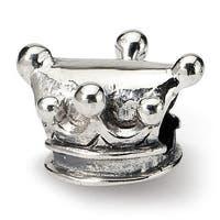 Sterling Silver Reflections Kids Jester Hat Bead (4mm Diameter Hole)