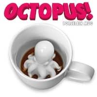 Octopus Surprise Coffee Mug - Multi