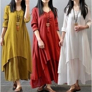 Women's Maxi Tunic Dress