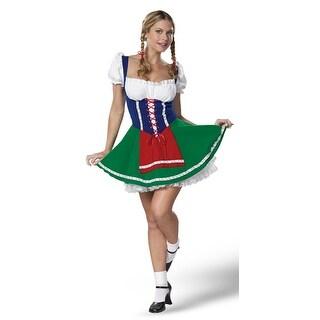 Sexy Milk Maiden - Adult Small Costume