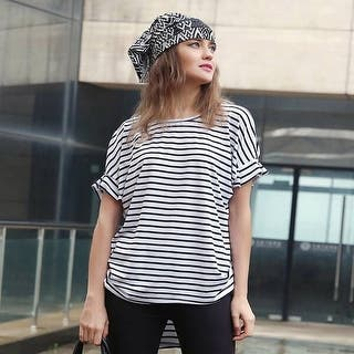 Mad Style Alex Striped Tee|https://ak1.ostkcdn.com/images/products/is/images/direct/3460f0ab13ac313ee3438ae96ed8b43047ea4697/Mad-Style-Alex-Striped-Tee.jpg?impolicy=medium