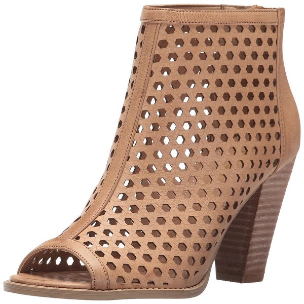 Report Womens Ronan Peep Toe Ankle Fashion Boots