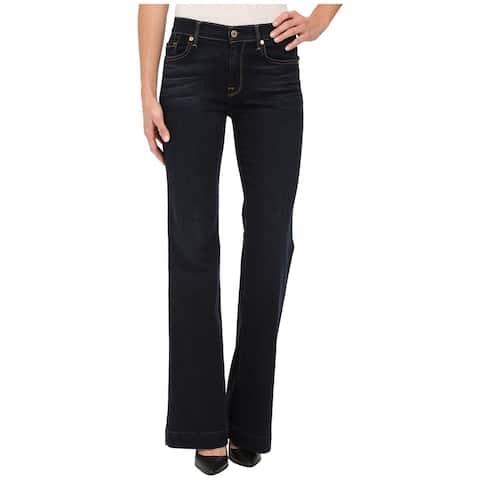 7 For All Mankind Womens Ginger Flared Jeans - 25 Regular