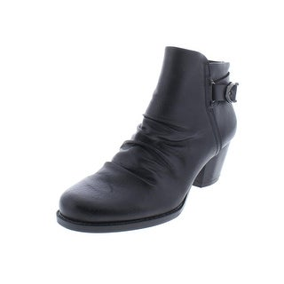 Baretraps Womens Reliance Booties Faux Leather Ankle