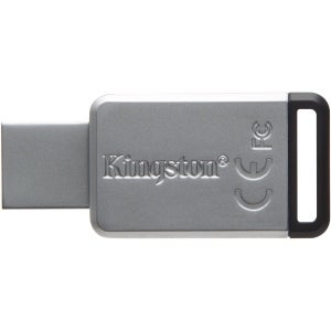 Kingston Dt50/128Gb 128Gb Datatraveler Dt50 Usb 3.1 Gen 1 Flash Drive