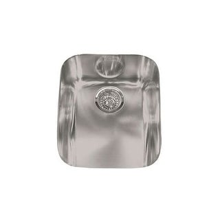 "Franke ARX 110-14 Artisan 14-4/7"" x 18-1/8"" Single Basin Undermount 18-Gauge Stainless Steel Kitchen Sink"