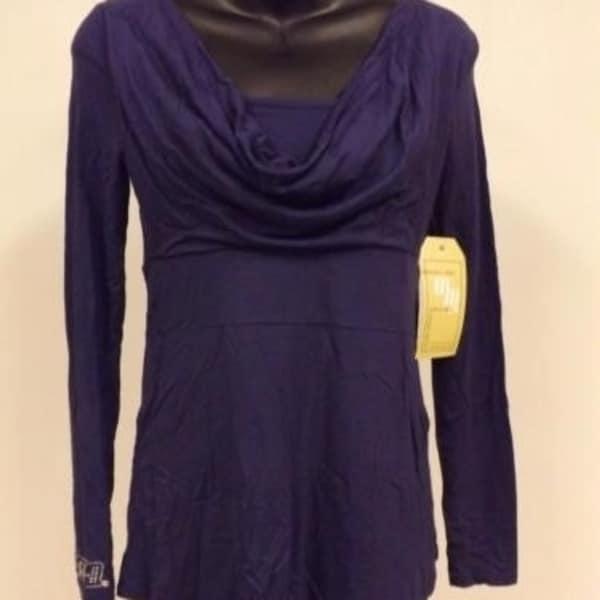NEW Indiana Hoosiers Womens Designer S-M-L-XL Long Sleeve Shirt by Meesh /& Mia