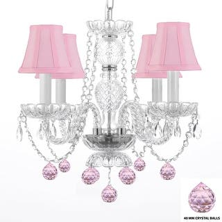 Pink Chandeliers For Less | Overstock.com