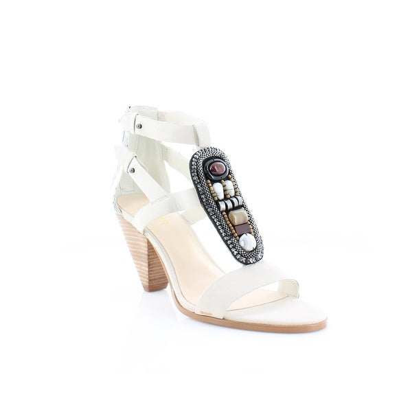 Nine West Reese Women's Sandals & Flip Flops Off White