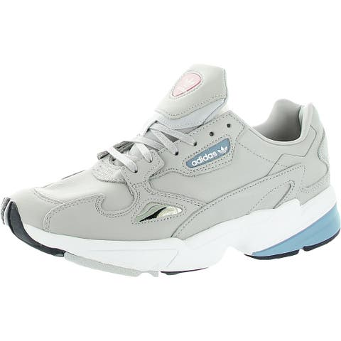 adidas Originals Womens Falcon Walking Shoes Gym Exercise - Gray Two, Raw Grey