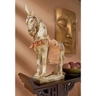 Design Toscano Six Dynasties Tang Caparisoned Horse Statue