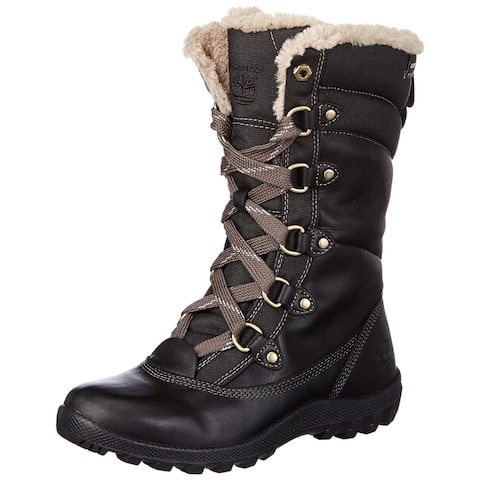 Timberland Womens Mount Hope Leather Closed Toe Mid-Calf Cold Weather Boots
