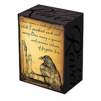 Legion Supplies LGNBOX026 Legion Art Deck Box Raven, Pack Of 4