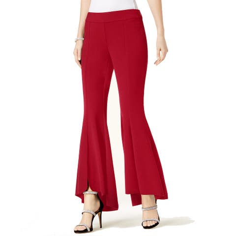 INC International Concepts Women's Flared High-Low Pants (12)