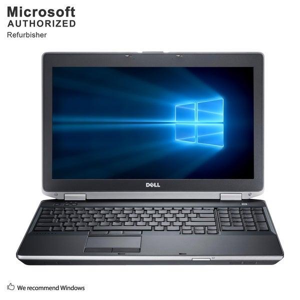 """Dell Latitude E6530 15.6"""" Laptop Intel Core I7-3720QM 2.6G 8G RAM 480G SSD DVDRW WIFI Windows 10 Home (Refurbished A Grade)"""