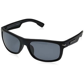 Peppers Polarized Sunglasses Palisades Matte Black with Smoke Lens