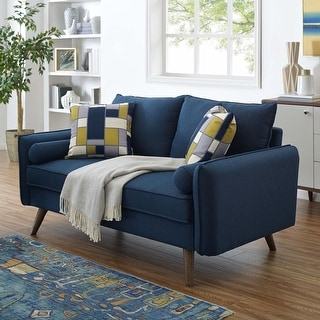 Link to Carson Carrington Hedeby Upholstered Fabric Loveseat Similar Items in Living Room Furniture