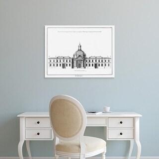 Easy Art Prints Denis Diderot's 'Architectural Elevation I' Premium Canvas Art