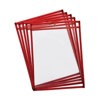 Reusable Dry Erase Pockets 10Pk