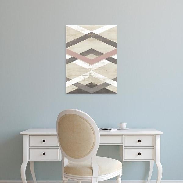 Easy Art Prints June Erica Vess's 'Midpoint I' Premium Canvas Art