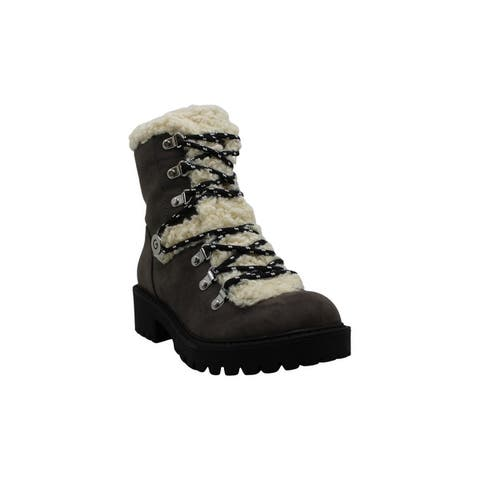 G by Guess Womens sherry Leather Almond Toe Mid-Calf Fashion Boots