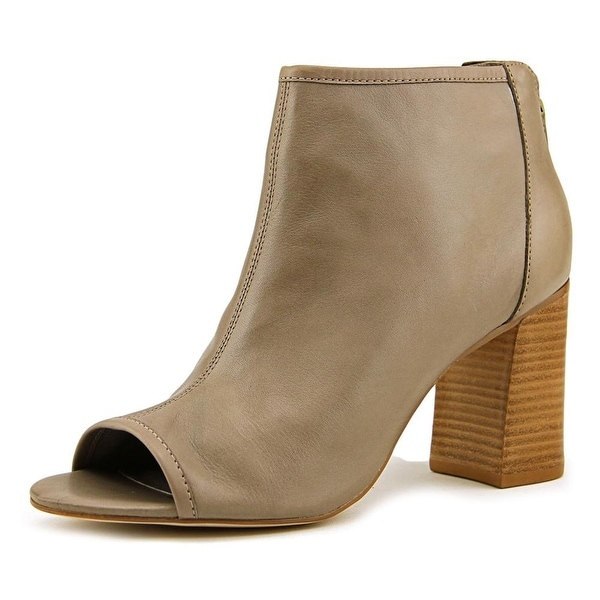 Very Volatile Jessy Women Peep-Toe Leather Bootie