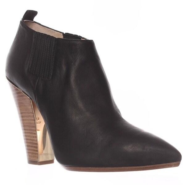 MICHAEL Michael Kors Lacy Ankle Boots, Black