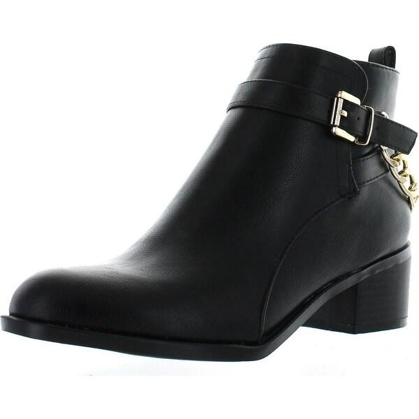 Breckelles Women's Capital-13 Ankle Hi Bootie W Side Zipper