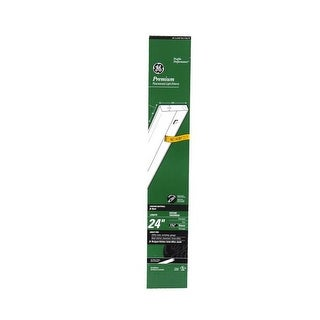"Ge 16687 Under Cabinet Fluorescent Direct Wire Light Fixture, 24"""