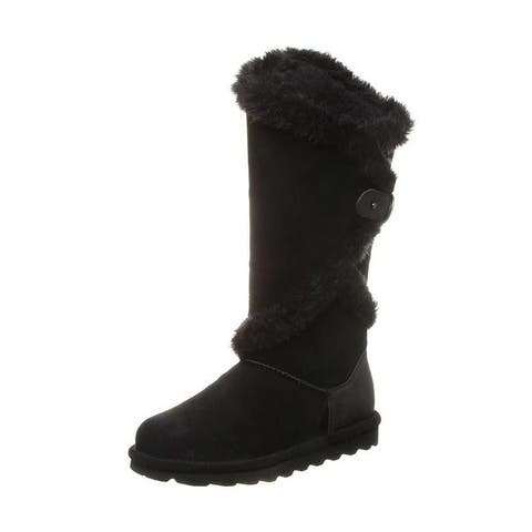 "Bearpaw Casual Boots Womens Sheilah 14"" Shaft Faux Fur Lined"