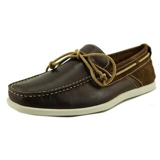 GBX Bardo Moc Toe Leather Boat Shoe
